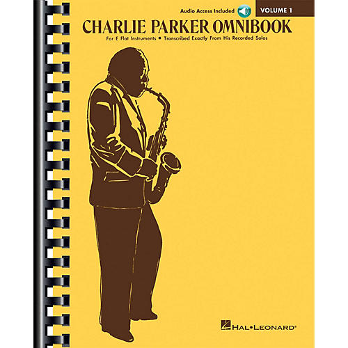 Hal Leonard Charlie Parker Omnibook - Volume 1 - Transcribed Exactly from His Recorded Solos E-Flat Instruments Edition Book/Online Audio