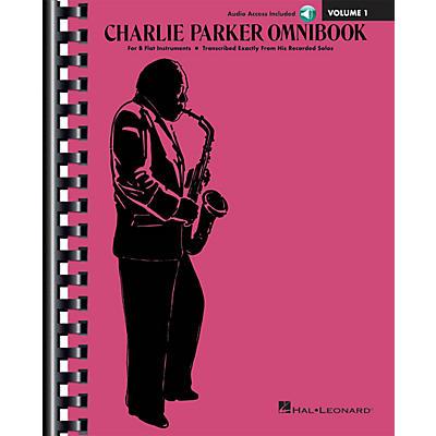 Hal Leonard Charlie Parker Omnibook - Volume 1 B-Flat Instruments Edition Book/Online Audio
