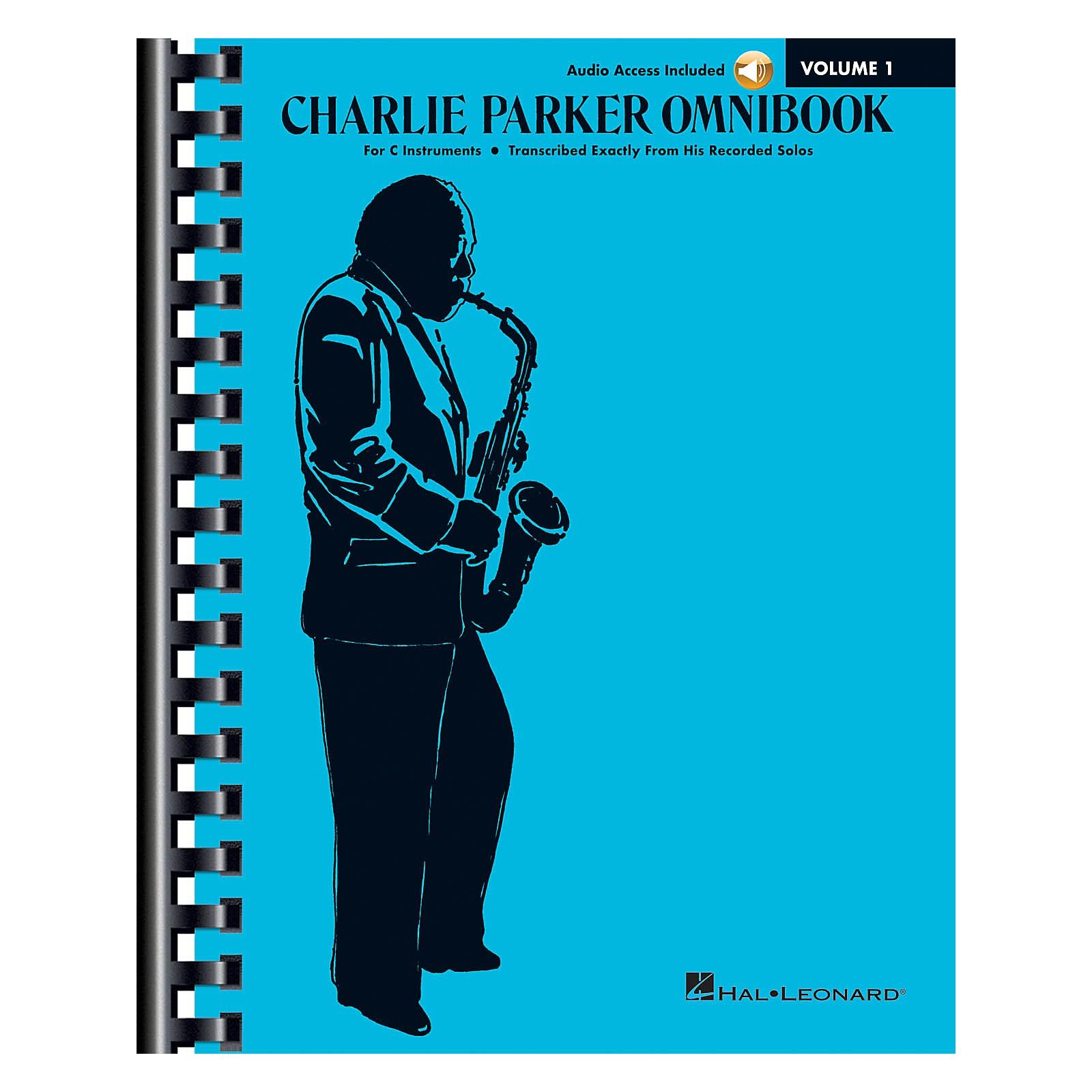 Hal Leonard Charlie Parker Omnibook - Volume 1 C Instruments Edition Book/Online Audio