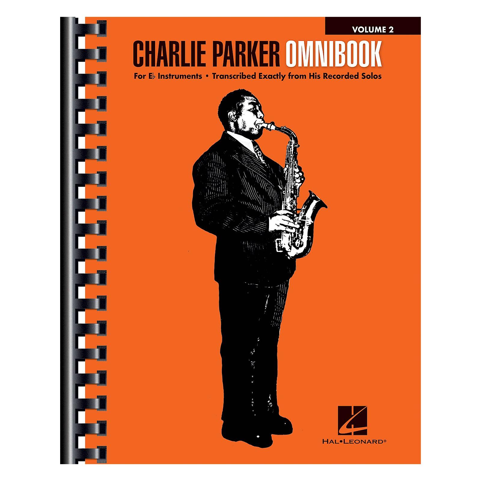 Hal Leonard Charlie Parker Omnibook - Volume 2 For E-flat Instruments