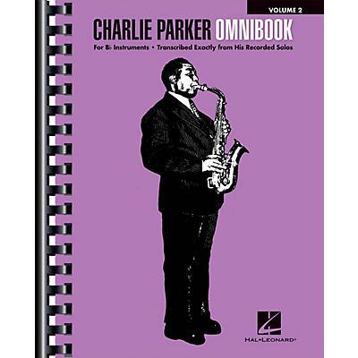 Hal Leonard Charlie Parker Omnibook - Volume 2 for B-flat Instruments