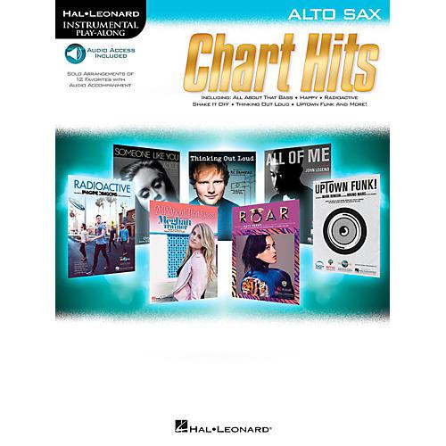 Hal Leonard Chart Hits For Alto Sax - Instrumental Play-Along (Book/Online Audio)