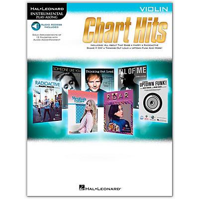 Hal Leonard Chart Hits For Violin - Instrumental Play-Along (Book/Online Audio)