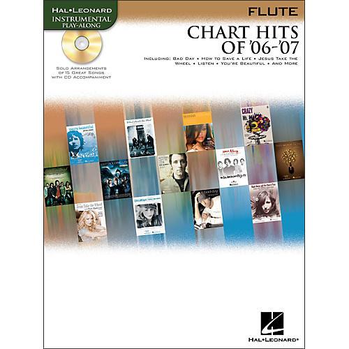 Hal Leonard Chart Hits Of '06 -'07 for Flute Book/CD