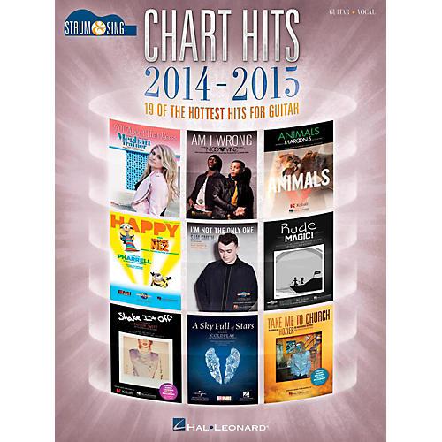 Hal Leonard Chart Hits Of 2014-2015 - Strum & Sing Guitar