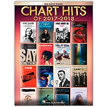 Hal Leonard Chart Hits of 2017-2018 for Big Note Piano