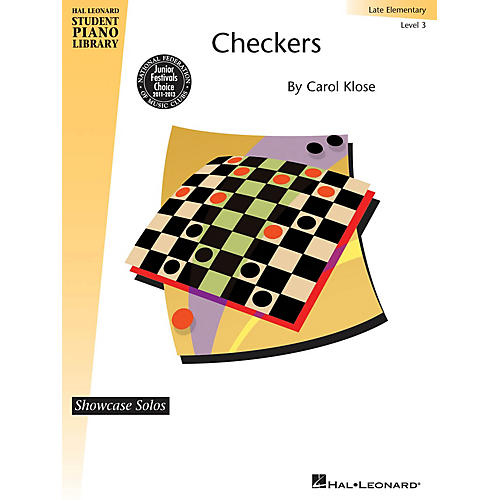 Hal Leonard Checkers Piano Library Series by Carol Klose (Level Late Elem)