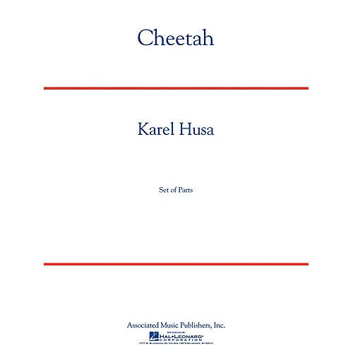 G. Schirmer Cheetah (Full Score) Concert Band Composed by Karel Husa