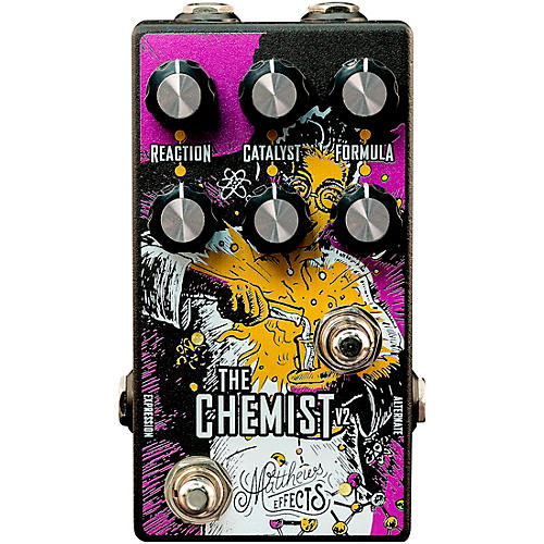 Matthews Effects Chemist V2 Octave, Chorus, Phaser Effects Pedal