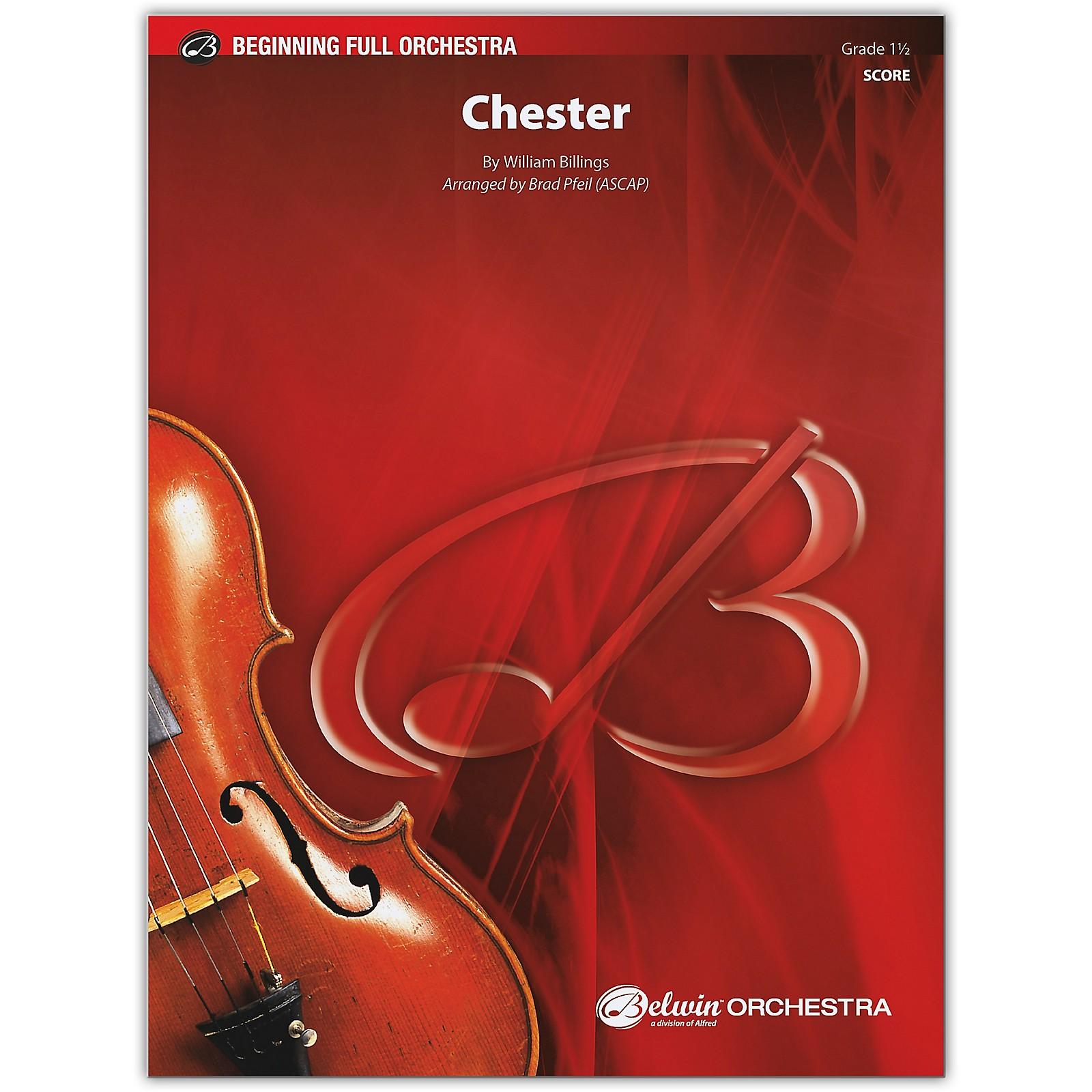 BELWIN Chester Conductor Score 1.5