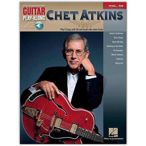 Hal Leonard Chet Atkins - Guitar Play-Along Volume 59 (Book/Online Audio)