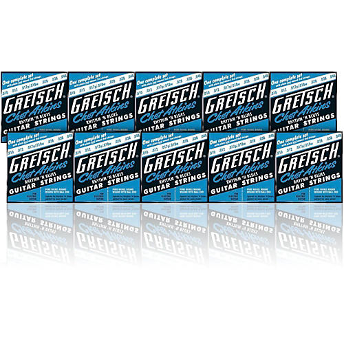 Gretsch Chet Atkins Pure Nickel 10 48 Electric Guitar Strings 10