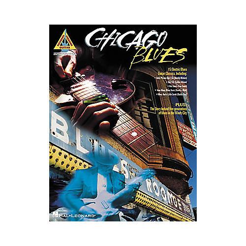 Hal Leonard Chicago Blues Guitar Tab Book