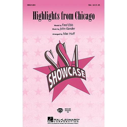 Hal Leonard Chicago (Choral Highlights) Arranged by Mac Huff