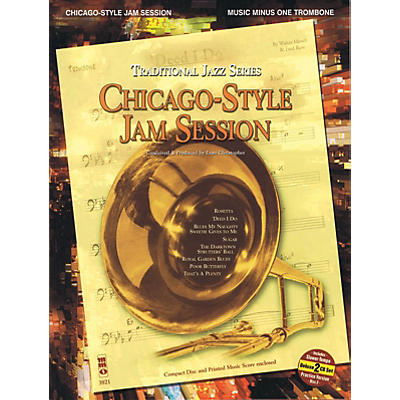 Music Minus One Chicago-Style Jam Session - Traditional Jazz Series Music Minus One Series Softcover with CD