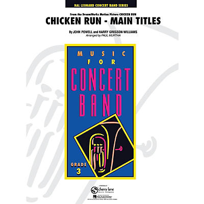 Cherry Lane Chicken Run, Main Titles - Young Concert Band Level 3 by Paul Murtha