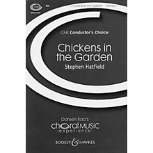 Boosey and Hawkes Chickens in the Garden TBB A Cappella composed by Stephen Hatfield