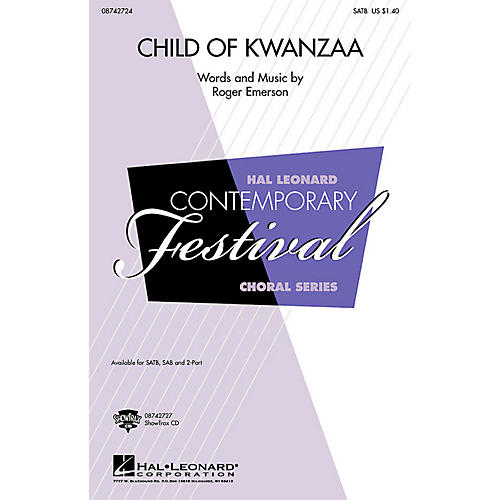 Hal Leonard Child of Kwanzaa ShowTrax CD Composed by Roger Emerson