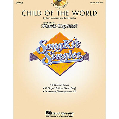 Hal Leonard Child of the World (SongKit Single) (Unison) UNIS Composed by John Higgins