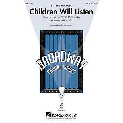 Hal Leonard Children Will Listen (from Into the Woods) SSA Arranged by Mark Brymer