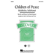 Hal Leonard Children of Peace (Suluhisha, Suluhiana) (SATB) SATB composed by Mark Brymer