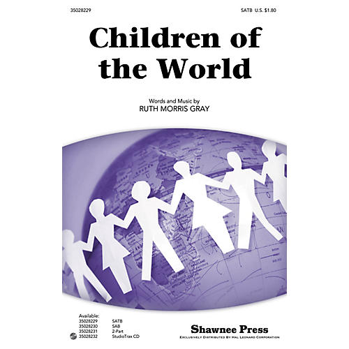 Shawnee Press Children of the World Studiotrax CD Composed by Ruth Morris Gray