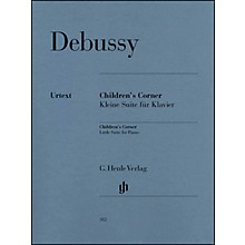 G. Henle Verlag Children's Corner Little Suite for Piano By Debussy