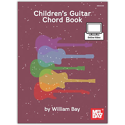 Mel Bay Childrens Guitar Chord, Book plus Online Video