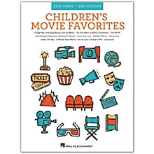 Hal Leonard Children's Movie Favorites - 2nd Edition (Easy Piano) Easy Piano Songbook Series Softcover by Various