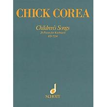 Schott Children's Songs (20 Pieces for Keyboard) Schott Series Softcover