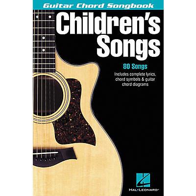 Hal Leonard Children's Songs Guitar Chord Songbook