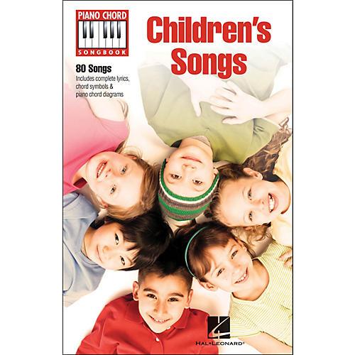 Hal Leonard Children's Songs Piano Chord Songbook