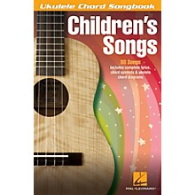 Hal Leonard Children's Songs Ukulele Chord Songbook