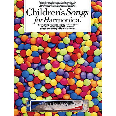 Music Sales Children's Songs for Harmonica Music Sales America Series