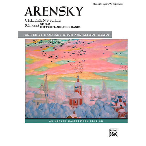 Alfred Children's Suite (Canons), Op. 65 - Book Early Advanced