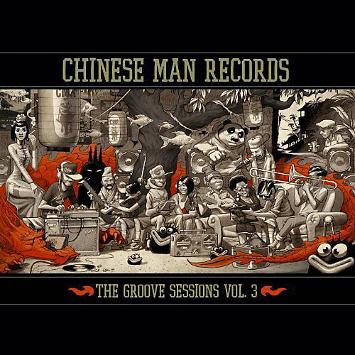 Alliance Chinese Man - Groove Sessions 3