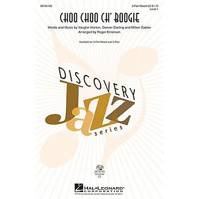Hal Leonard Choo Choo Ch' Boogie 3-Part Mixed Arranged by Roger Emerson