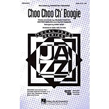 Hal Leonard Choo Choo Ch'Boogie SATB by The Manhattan Transfer arranged by Kirby Shaw