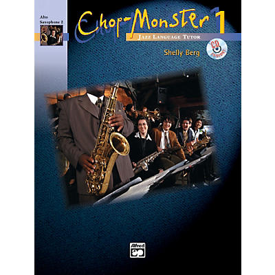 Alfred Chop-Monster Book 1 Alto Saxophone 2 Book & CD