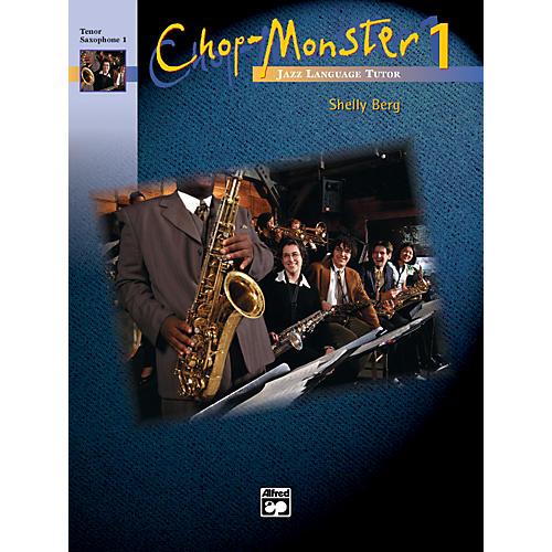 Alfred Chop-Monster Book 1 Baritone Saxophone Book & CD