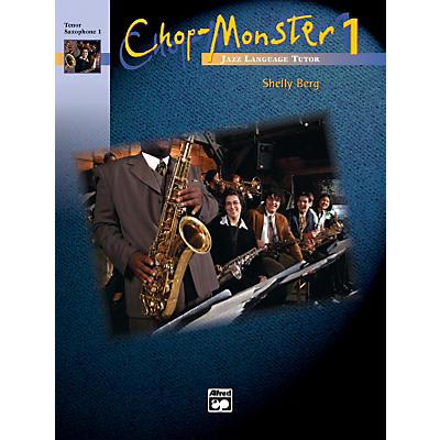 Alfred Chop-Monster Book 1 Tenor Saxophone 2 Book & CD