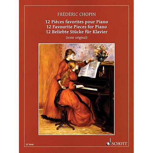 Schott Chopin - 12 Favorite Pieces for Piano Schott Series