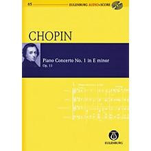 Eulenburg Chopin - Piano Concerto No. 1 in E-minor, Op. 11 Study Score W/ CD Edited by Michael Stegemann