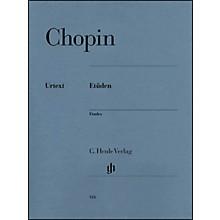 G. Henle Verlag Chopin Etudes Urtext Opus 10 And Opus 25 By Chopin / Zimmermann