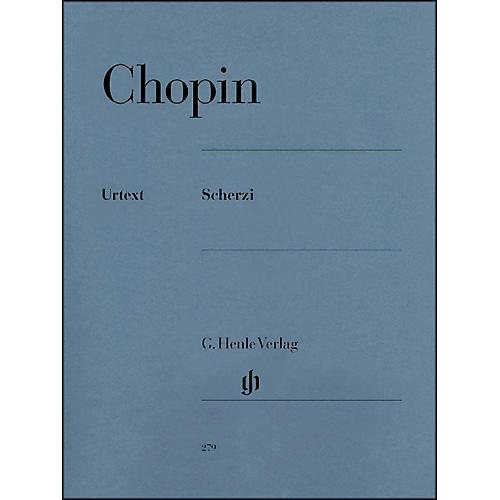 G. Henle Verlag Chopin Scherzos Opus 20 Scherzi Urtext By Chopin / Zimmermann