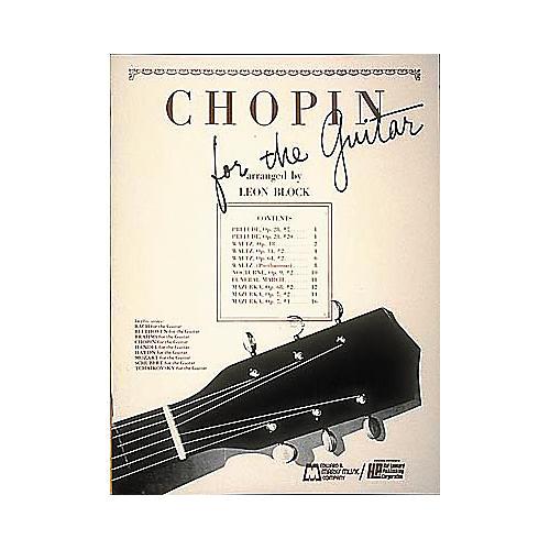Edward B. Marks Music Company Chopin for Guitar Book