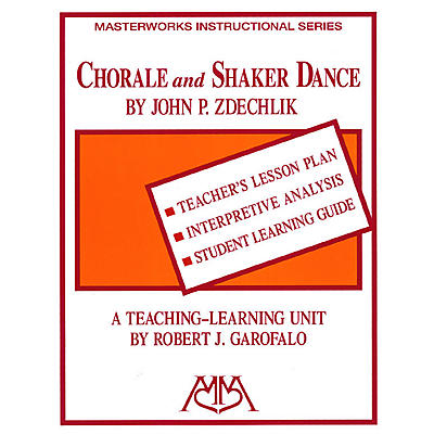 Meredith Music Chorale and Shaker Dance Meredith Music Resource Series by Robert Garofalo