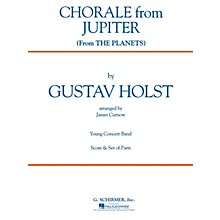 G. Schirmer Chorale from Jupiter (from The Planets) (Grade 2 - Score Only) Concert Band Level 2 by Gustav Holst