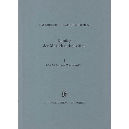 G. Henle Verlag Chorbücher und Handschriften in chorbuchartiger Notierung Henle Books Series Softcover