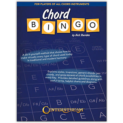 Centerstream Publishing Chord Bingo For Players of All Chord Instruments